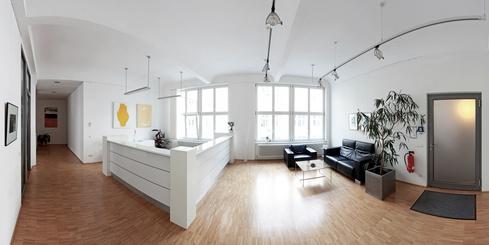 Panorama modernes Büro
